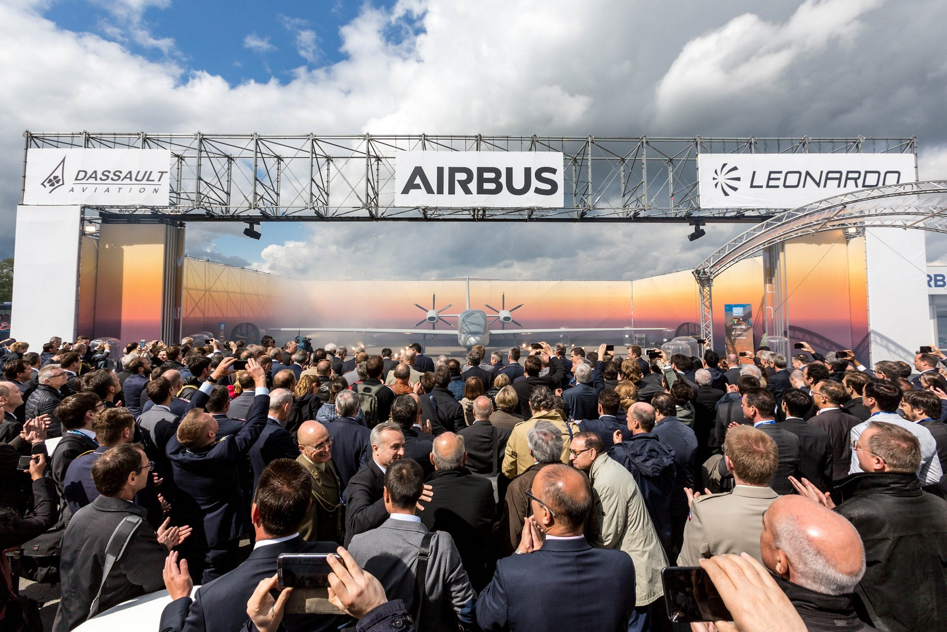 ILA Berlin 2018 European MALE RPAS ceremony 2