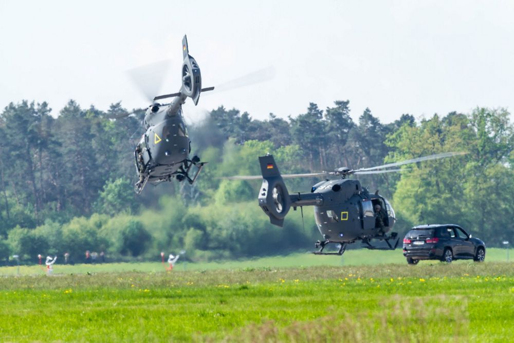 German Armed Forces Performance at ILA Berlin 2018