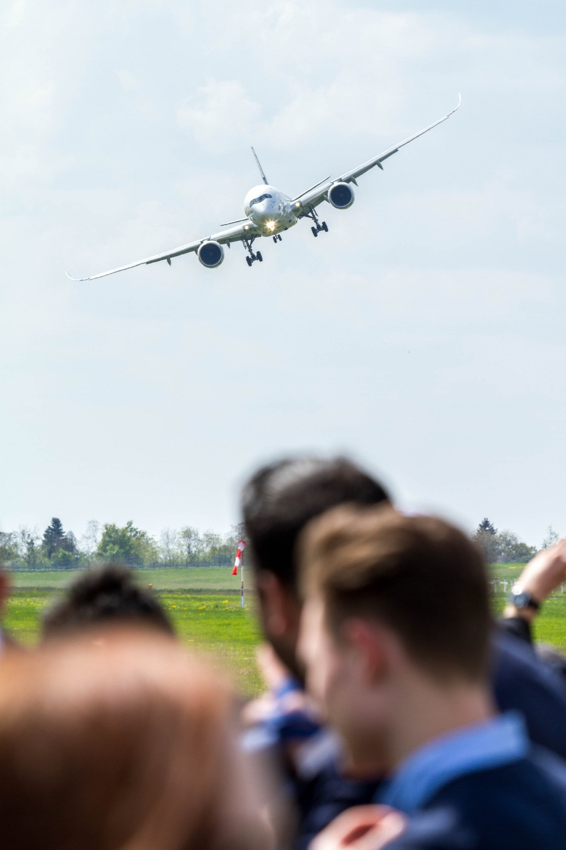 A350 XWB Flight display at ILA Berlin 2018