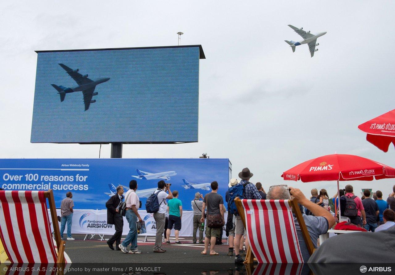 Flight Demo - Saturday A380