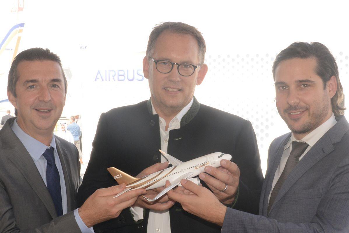 Airbus ACJ319neo wins new customer