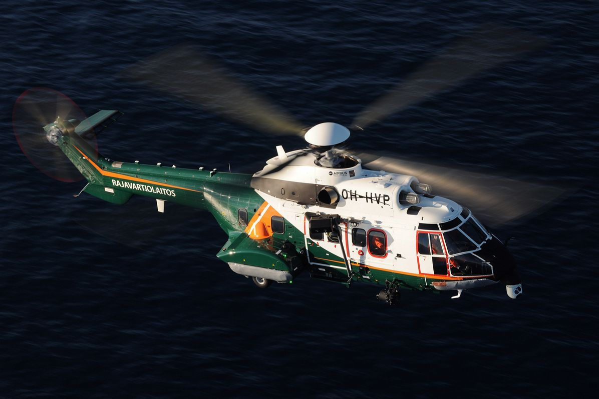 Finnish Border Guard receives first H215 from Airbus Helicopters