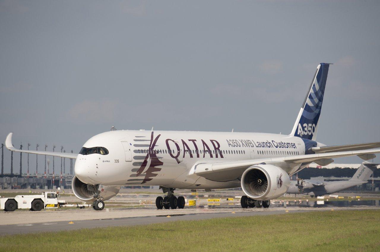ILA Berlin Air Show 2014 – A350 XWB landing