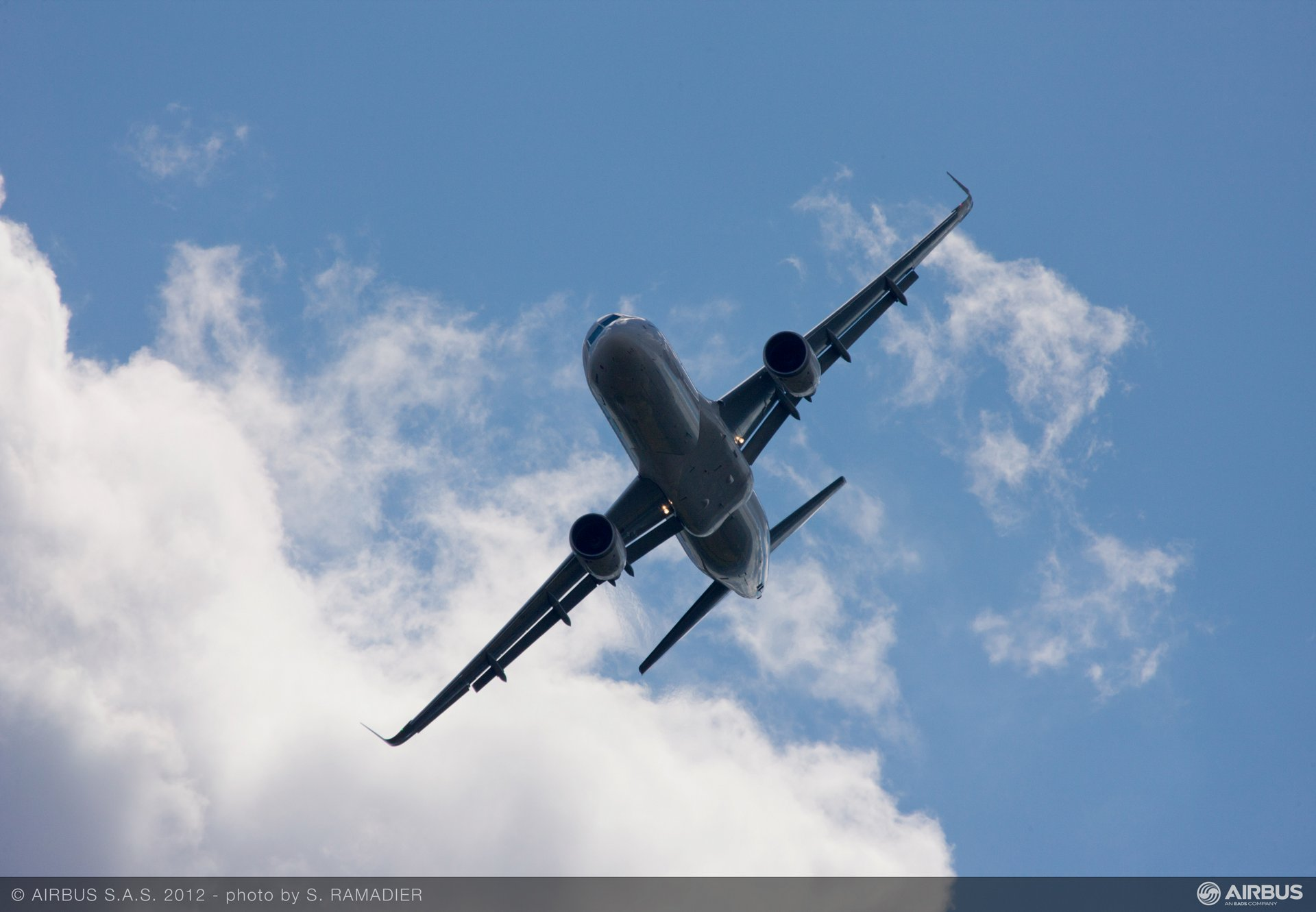 """Airbus demonstrated a strong presence at the 2012 edition of ILA Berlin Airshow. """"The fuel-saving wingtip devices represent the next phase in our ongoing development of the best-selling A320 Family,"""" said John Leahy, Airbus COO."""