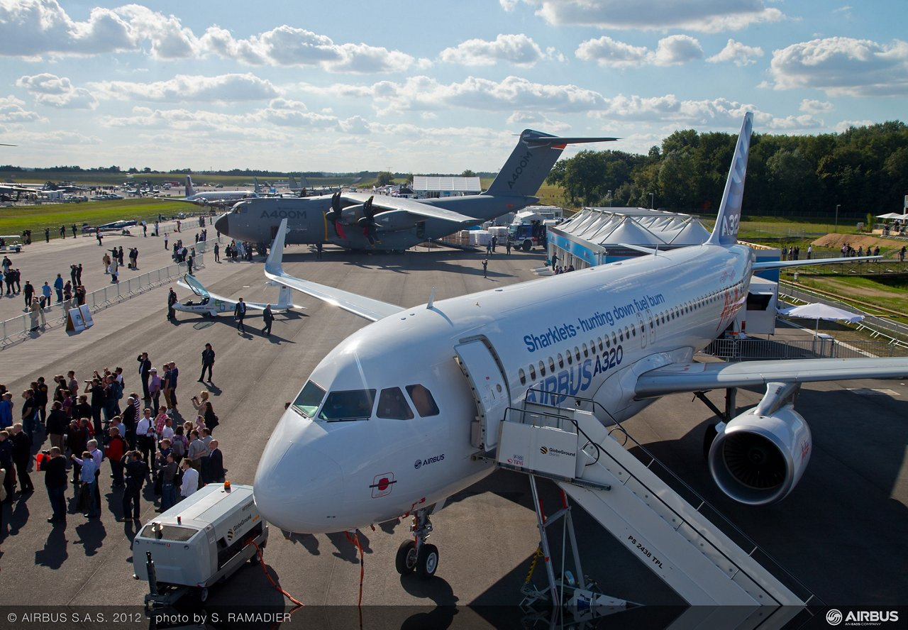 Airbus demonstrated a strong presence at the 2012 edition of ILA Berlin Airshow