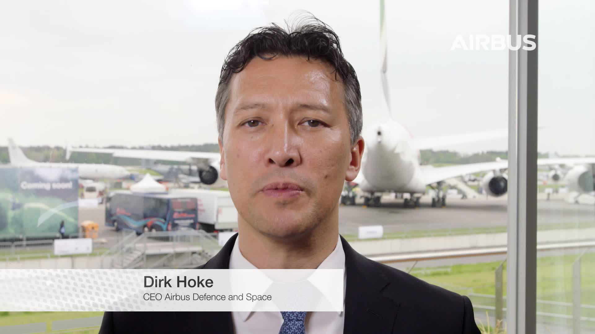 Interview of Dirk Hoke, CEO Airbus Defence and Space