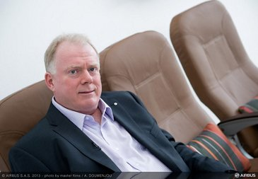 Kevin Keniston Airbus head of comfort portrait
