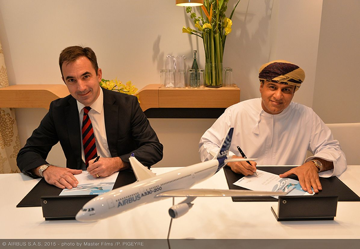 Oman Air signs with Airbus for A330 cabin upgrades