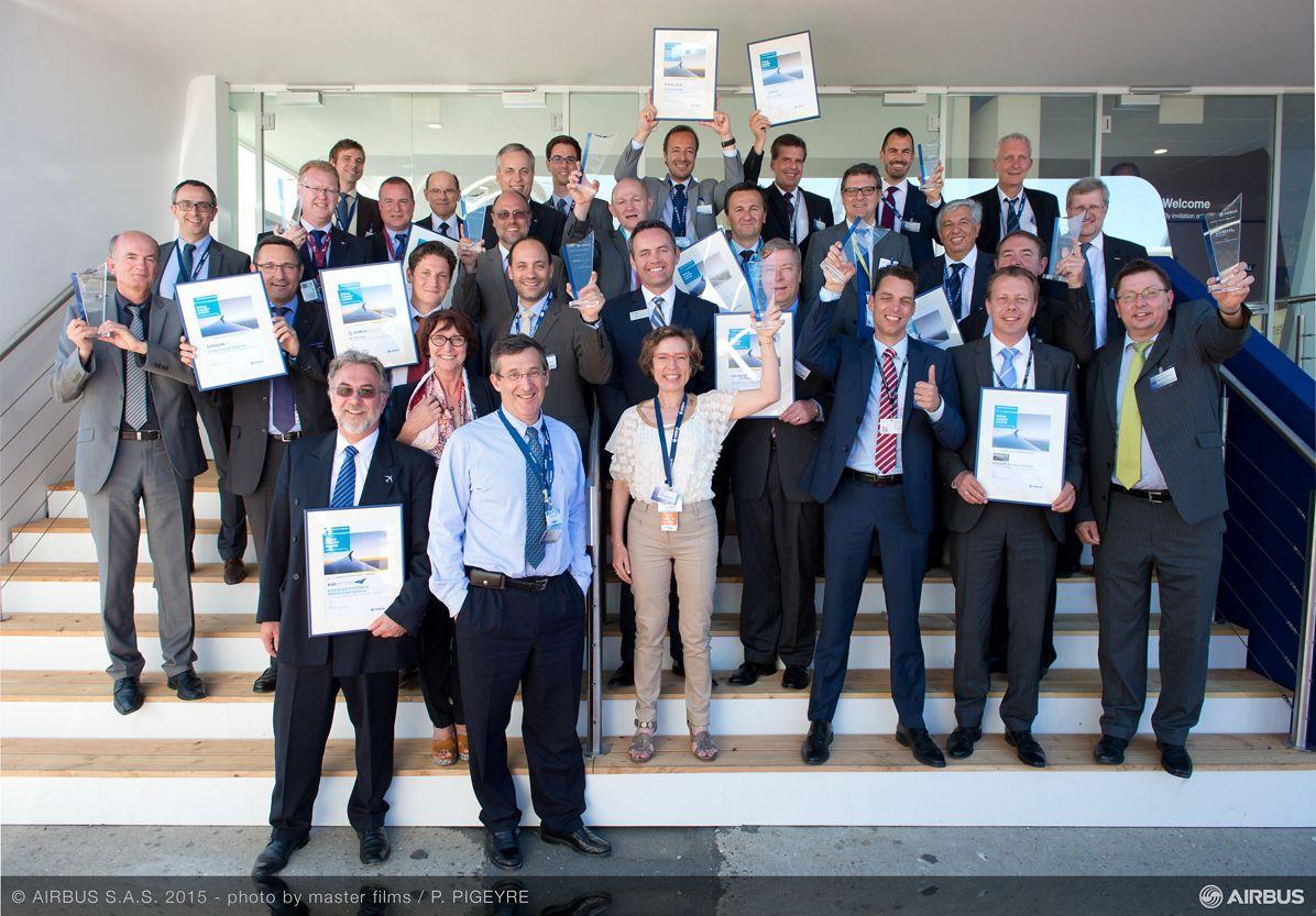 Paris Air Show 2015_Airbus Supplier Awards
