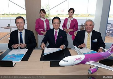 Peach Aviation signs contract for three A320s_2
