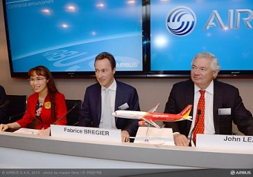 Paris Air Show 2015_VietJetAir A321 firm order 2