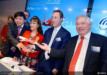 Paris Air Show 2015_VietJetAir A321 firm order 1