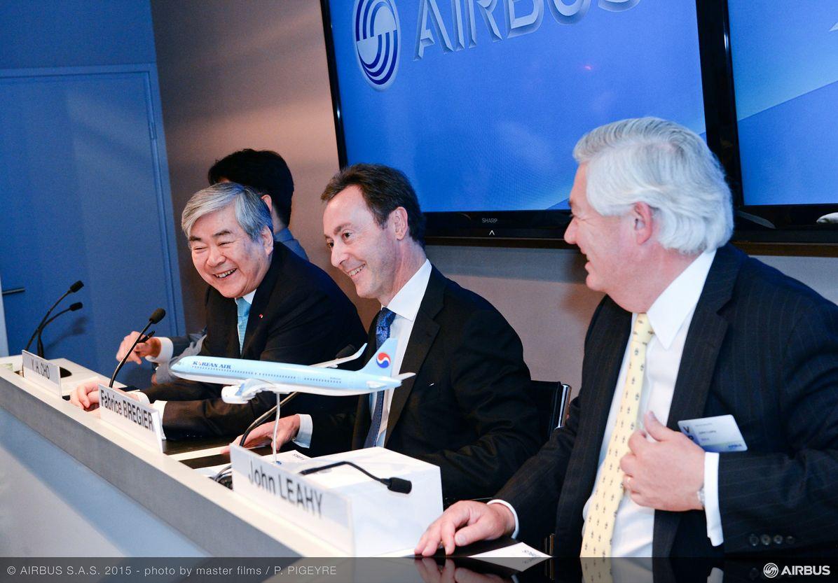 Paris Air Show 2015_Korean Air A321neo MoU 1