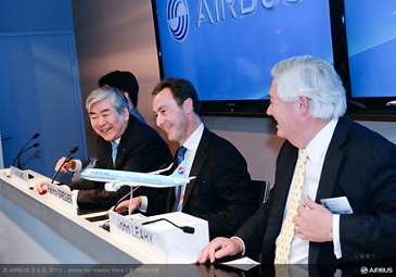 Paris Air Show 2015_Korean Air A321neo MoU 1