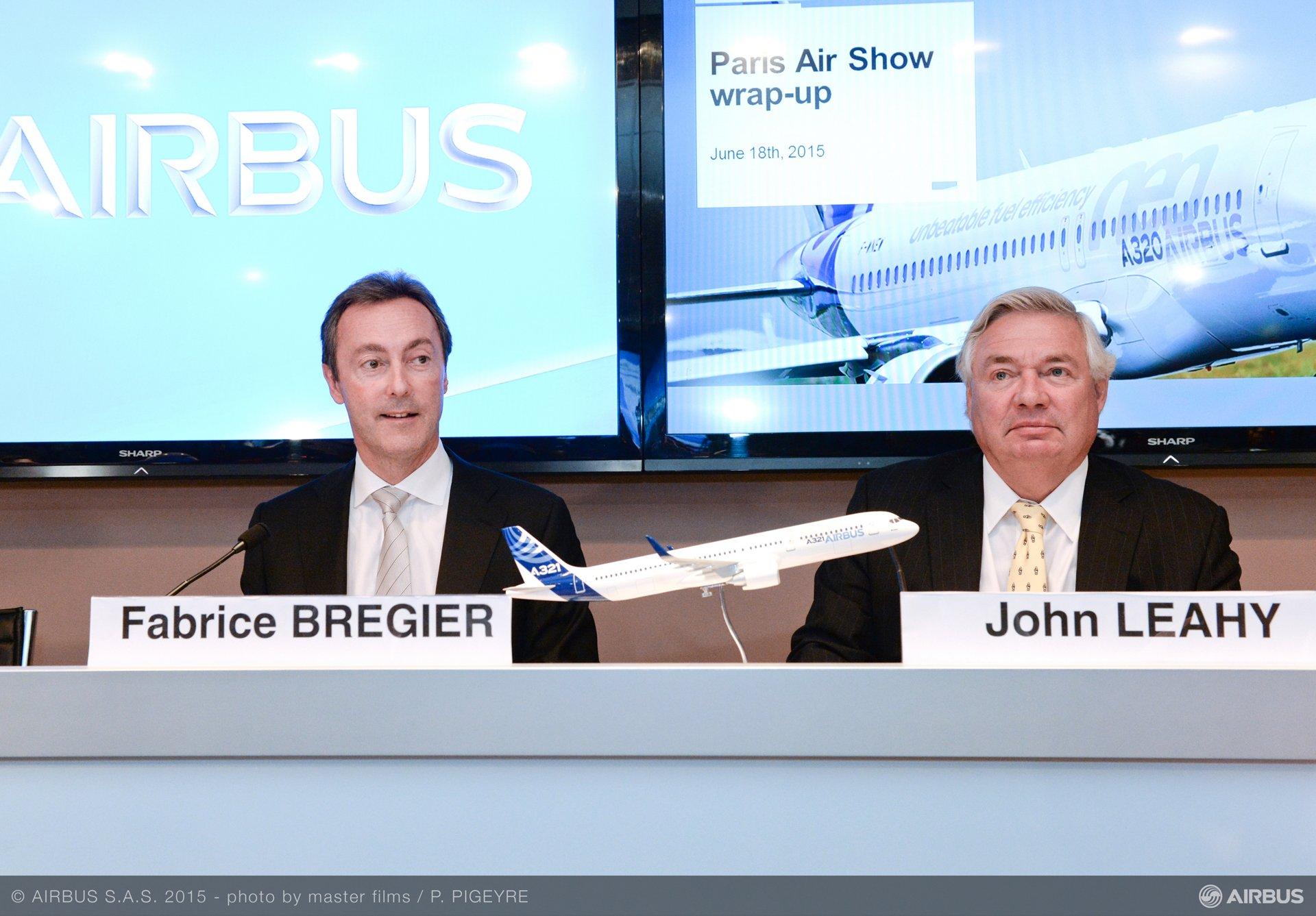 Paris Air Show 2015_End-of-show press conference 1