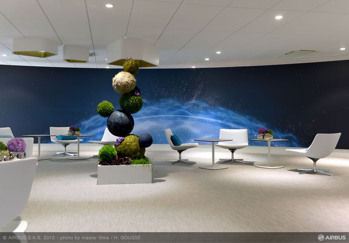 Pavillon Airbus Group ambience 2