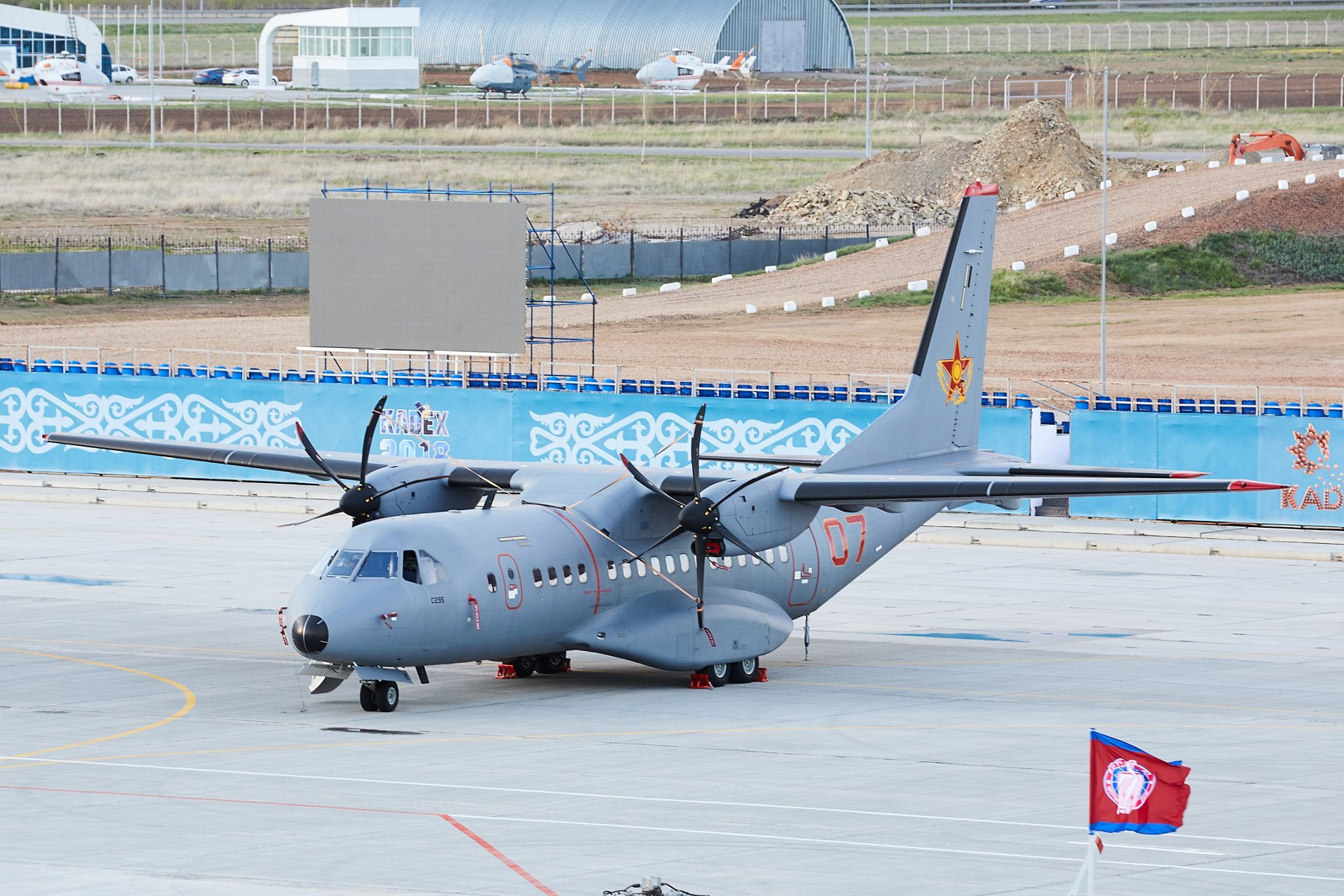 C295 at KADEX 2018