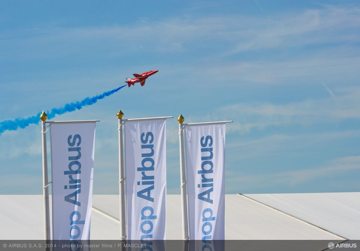 Red arrows demo flags