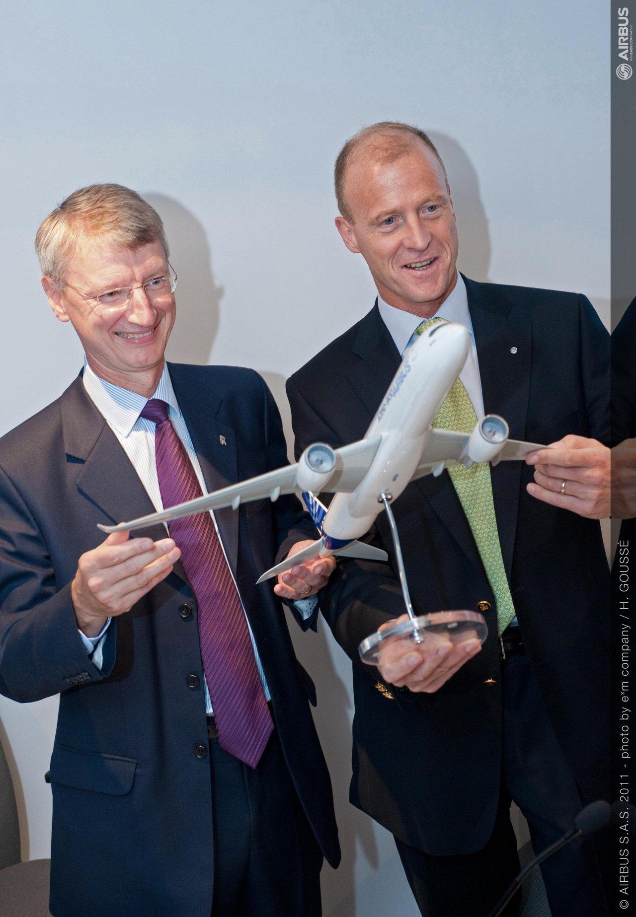 Rolls Royce agreement on enhanced A350-1000