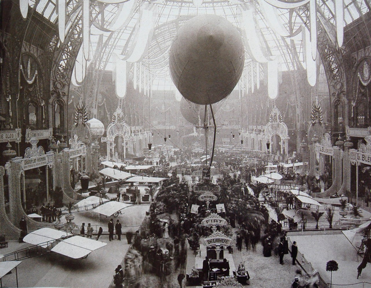 First Paris Air Show in 1909