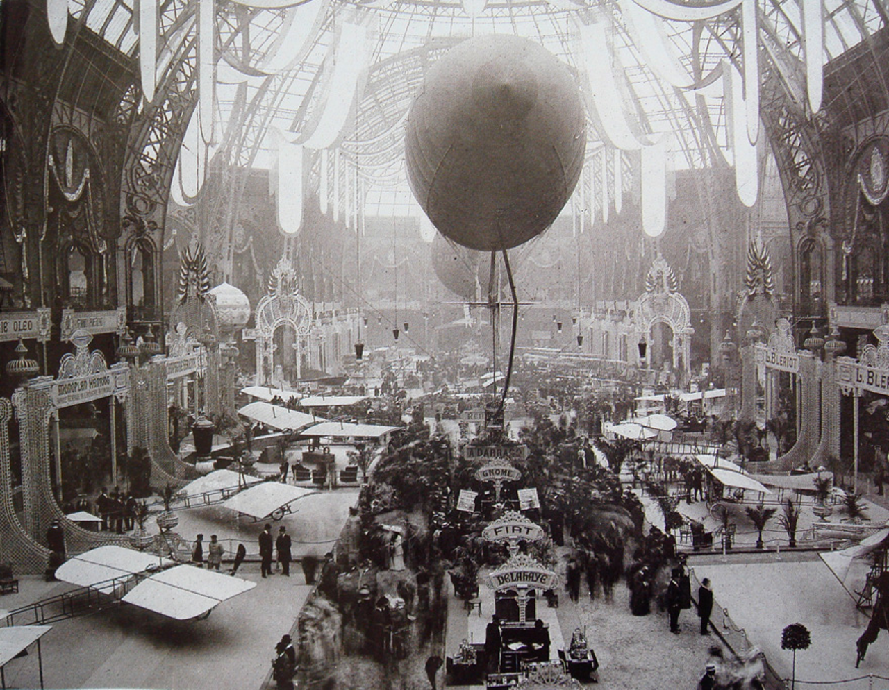 The Paris Air Show, the world's oldest, first opened its doors in 1909. It has held at the Grand Palais in Paris.