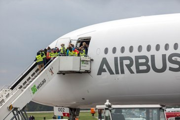 ILA Berlin 2018 A350-900 static display
