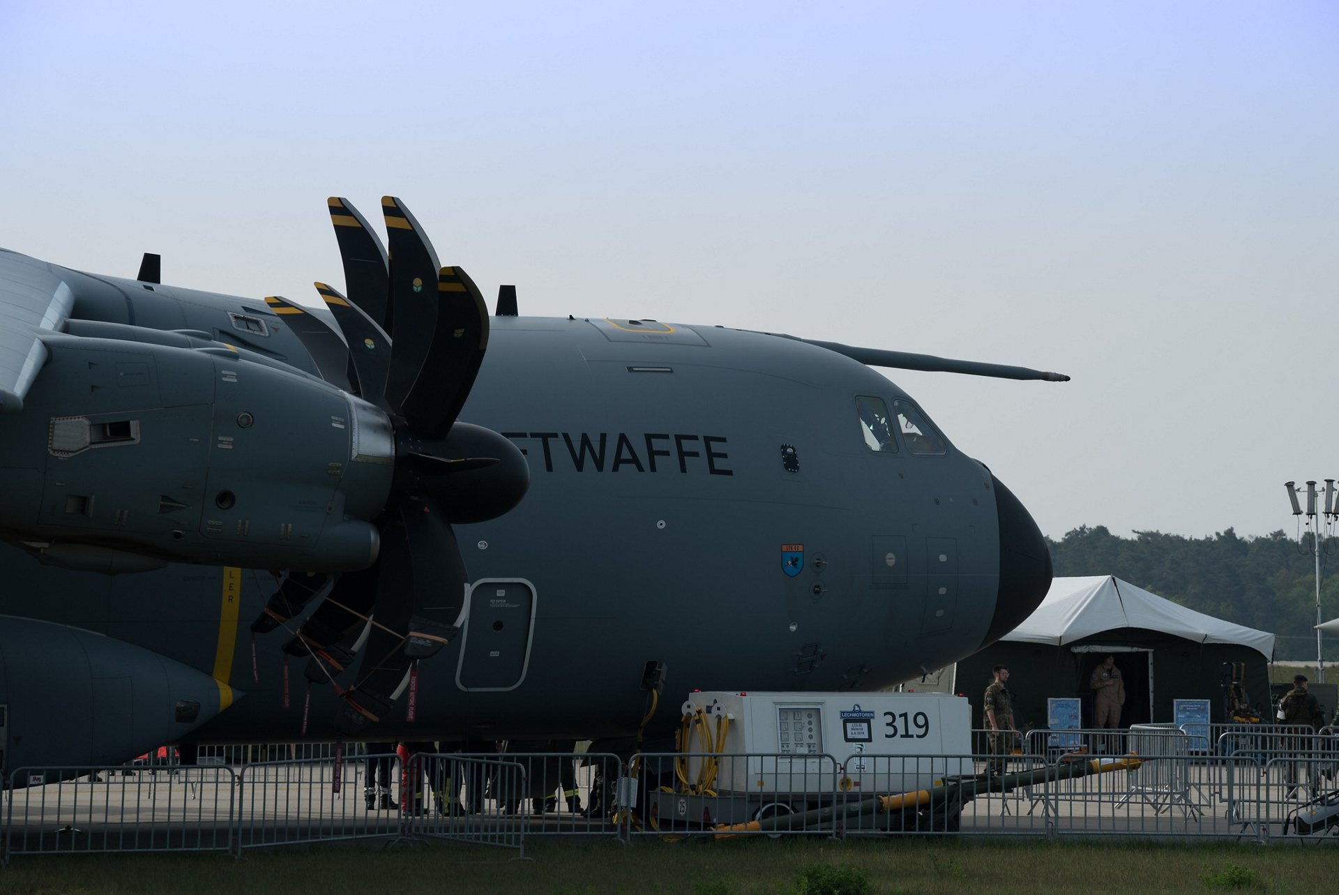 A400M - Static Display at ILA Berlin 2018