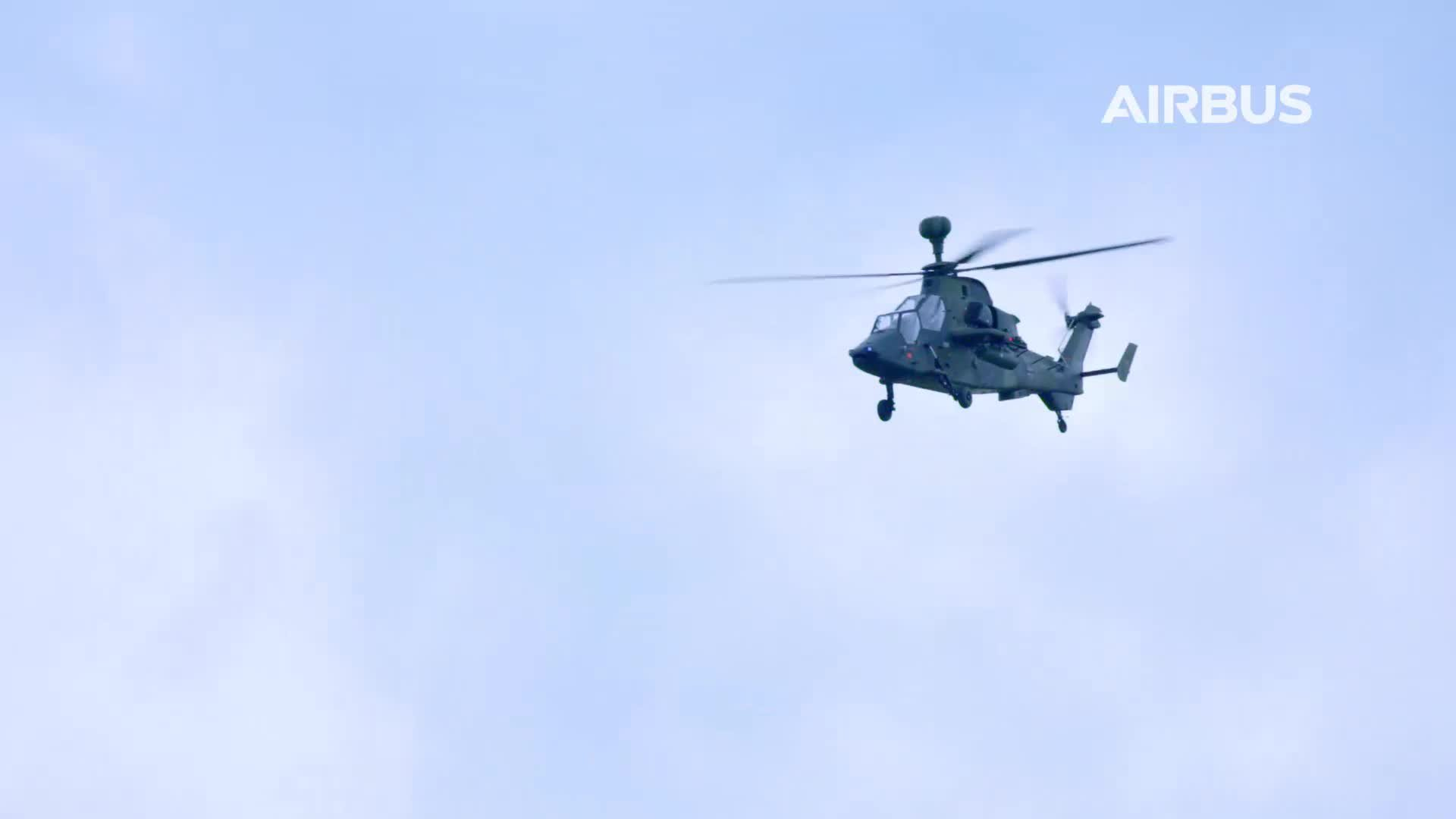 TIGER Flight display at ILA Berlin 2018