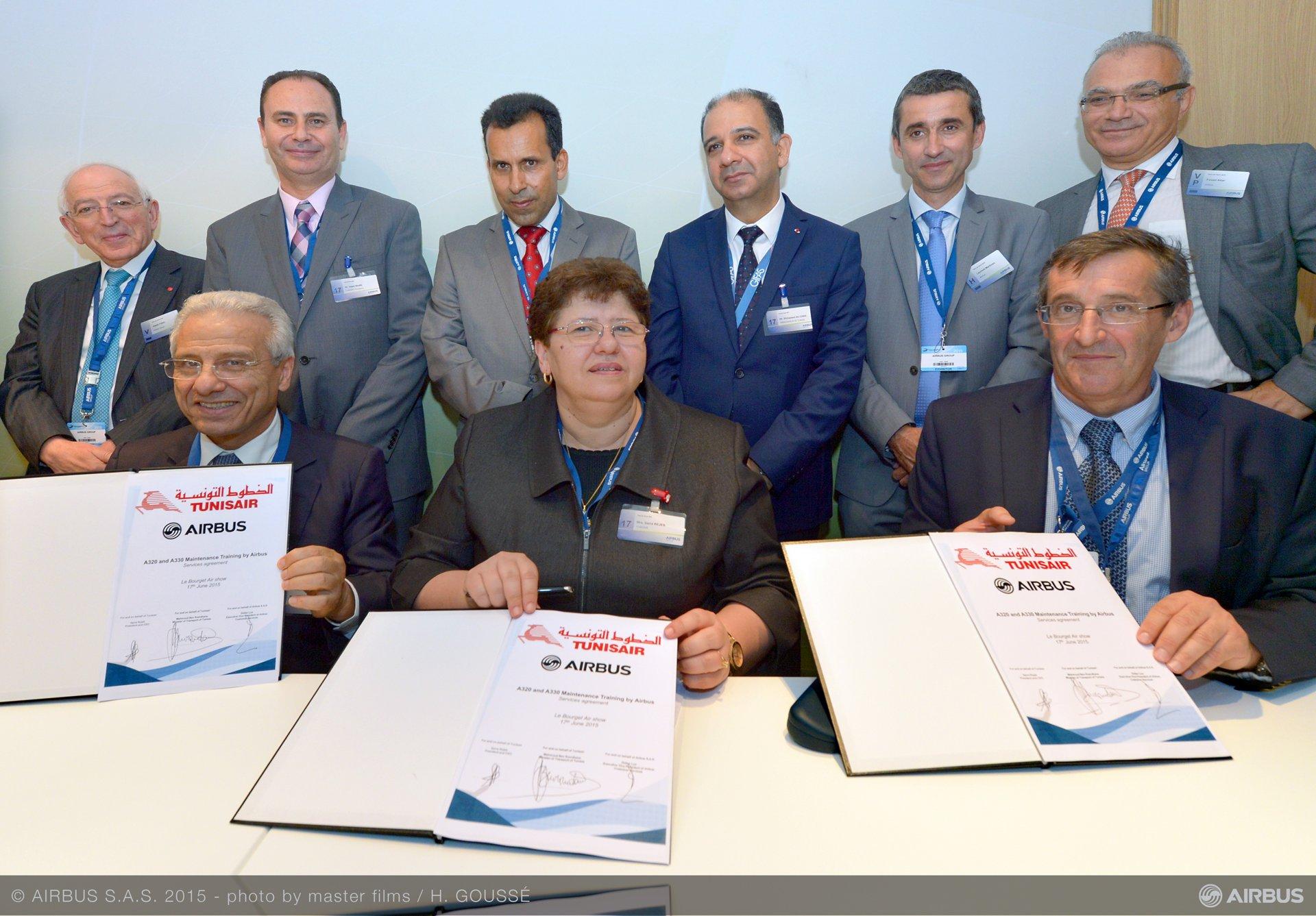 Tunisair Group Maintenance Training Services