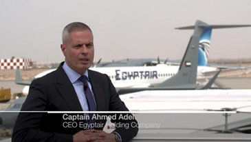 Interview of Egyptair CEO