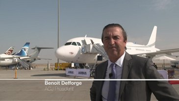 Interview of Benoit Defforge at Dubai Airshow 2019