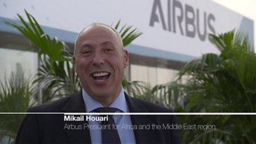 Interview of Mikail Houari at Dubai Airshow 2019
