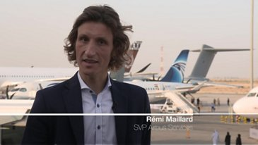 Interview of Rémi maillard at Dubai Airshow 2019