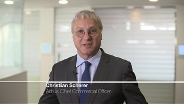 Interview of Christian Scherer at Dubai Airshow 2019