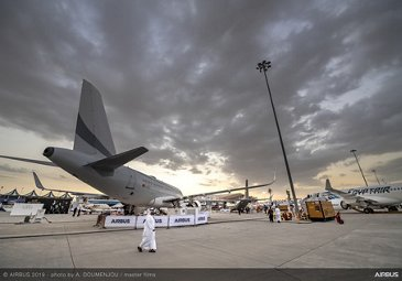 Static display overview – Dubai Airshow 2019