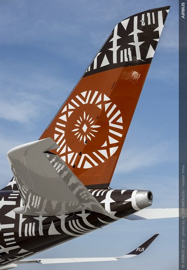 A350-900 Fiji at Dubai Airshow 2019 - Day 1
