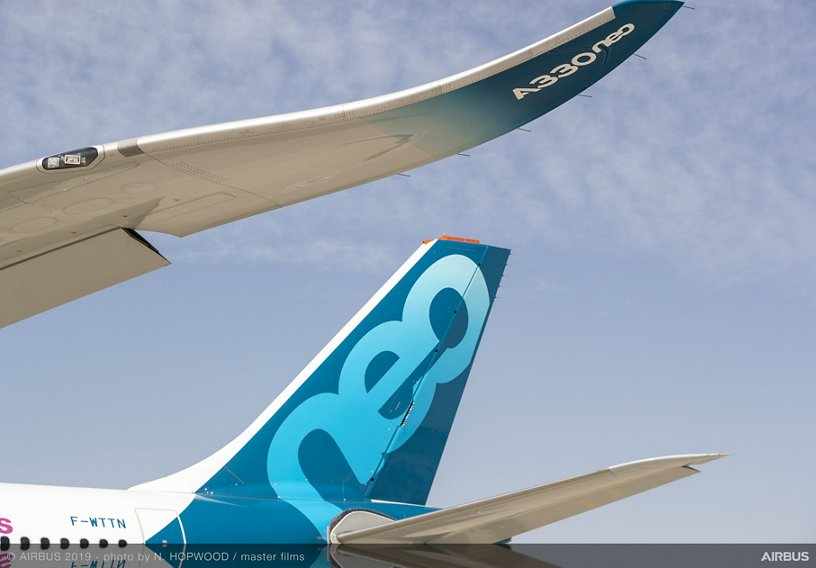 A330neo on ground – Dubai Airshow 2019