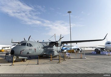UAE Air Force & Air Defence C295 – Dubai Airshow 2019