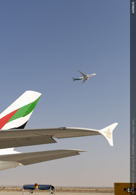 A330neo flight presentation – Dubai Airshow 2019