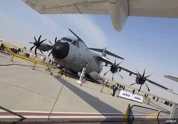 A400M on Static Display at Dubai Airshow 2019