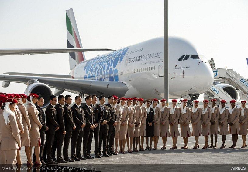 Emirates crew – Dubai Airshow 2019