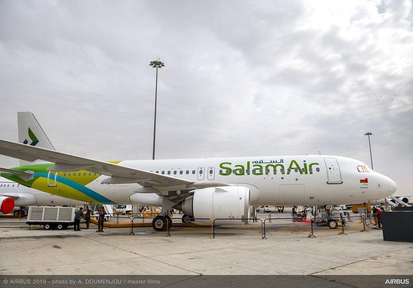 SalamAir A320neo – Dubai Airshow 2019