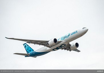 A330neo Flying Display - FIA 2018 - Day 01