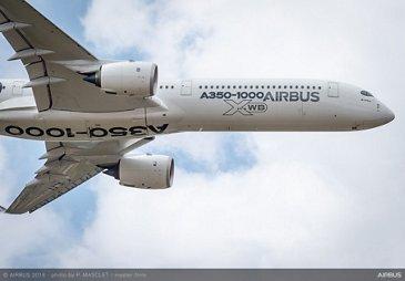 A350-1000 flying display - Farnborough Airshow 2018 - Day 3