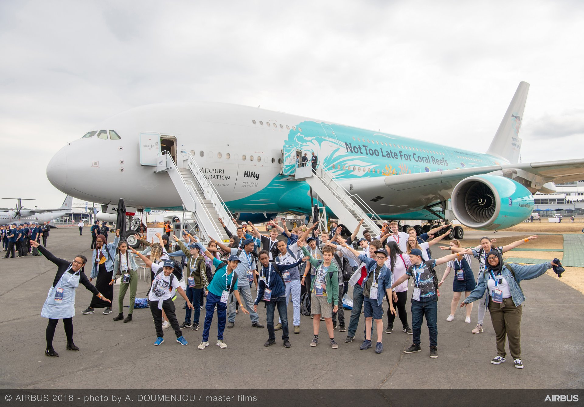 Farnborough Airshow Day 5:  With diversity at Airbus, 'we make it fly'