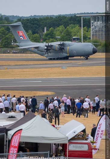 A400M Flying Display - FIA 2018 - Day 01