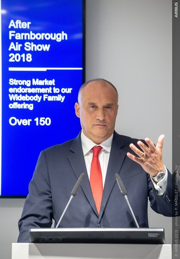 Farnborough Airshow 2018 wrap-up commercial press conference