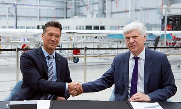 Airbus And International SOS Sign MOU on Drone Cargo Delivery Systems - FIA2018 -  Day 03