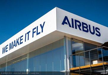 Airbus Exhibit Stand - FIA 2018 - Day 00