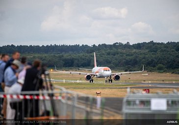 Easyjet 1st A321neo Delivery - FIA2018 - Day 03